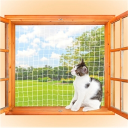 Filet de protection fenêtre chat