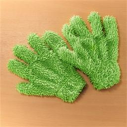 Lot de 2 gants chenille microfibre