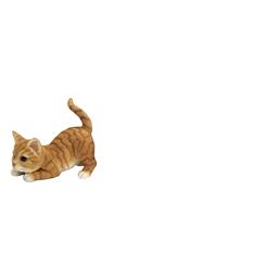 Figurine chat qui joue