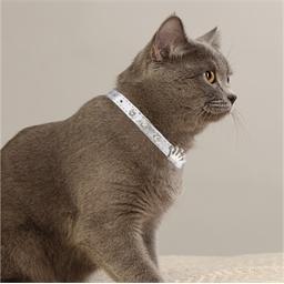 Collier pour chat couronne argenté, doré ou cuivre
